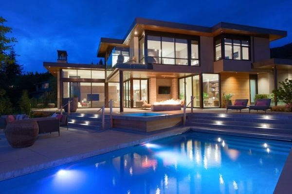 Multi-level Contemporary Residence With Picturesque Views Of Vancouver - feed2know
