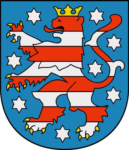 Coat of arms of Thuringia - Thüringen – Wikipedia