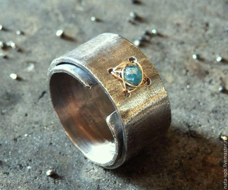 COSMIC GIRL кольцо (алмаз, серебро 925, золото 585) - кольцо с алмазом