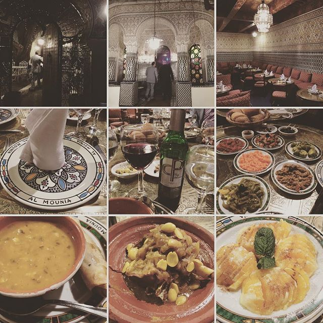 Best Moroccan food I ever have😋😋😋 #morocco #moroccanfood #tajin #almounia #casablanca #travelgram #northafrica #モロッコ #カサブランカ #モロッコ料理 #タジン鍋 #旅行 #海外旅行