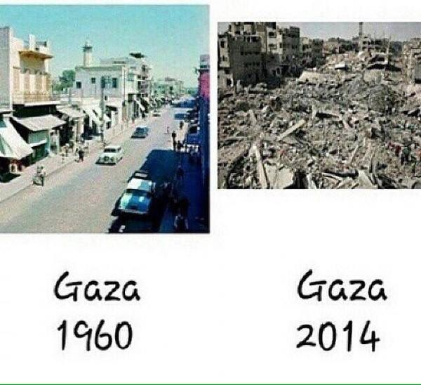 Beyond depressing to see the potential of what Gaza could be     Israel has no intentions on finding a peaceful solution to end this Occupation. Ethnic Cleansing is what their agenda really is ... kd