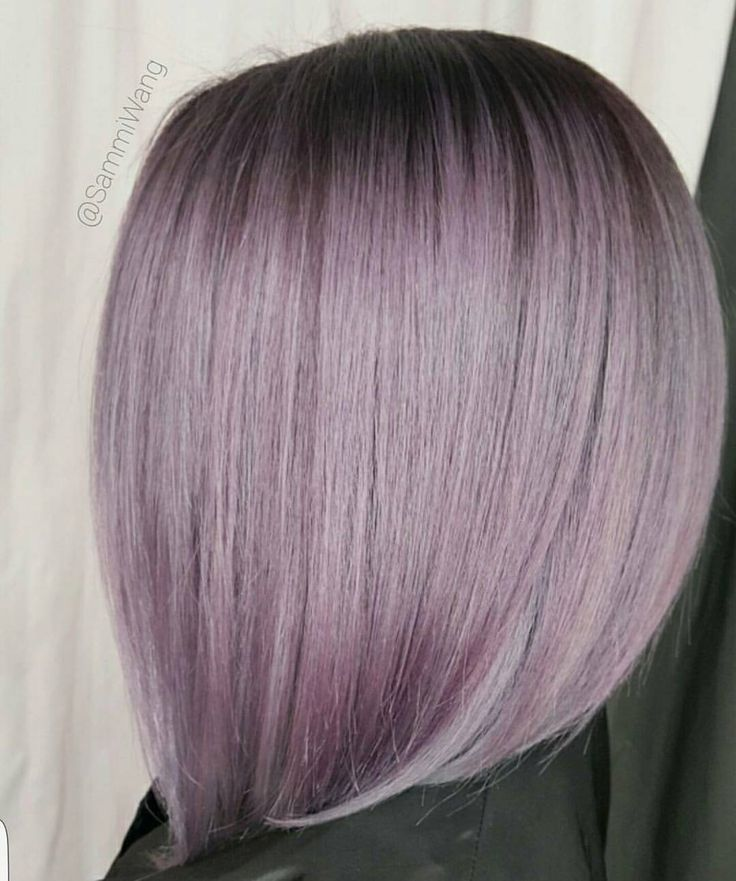 "5,282 Likes, 32 Comments - behindthechair.com (@behindthechair_com) on Instagram: ""Smoky Lilac + Shadow ... by @sammiiwang #behindthechair #shadowroot #purplehair"""