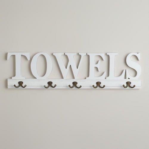 25 best ideas about bathroom towel hooks on pinterest diy bathroom towel hooks bathroom - Decorative towel hooks for bathrooms ...