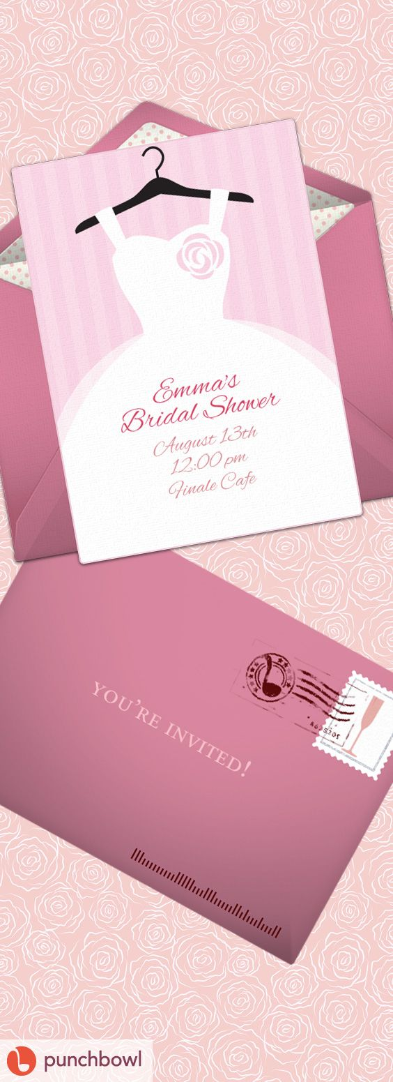 bridal shower invitations registry etiquette%0A Online Invitations from