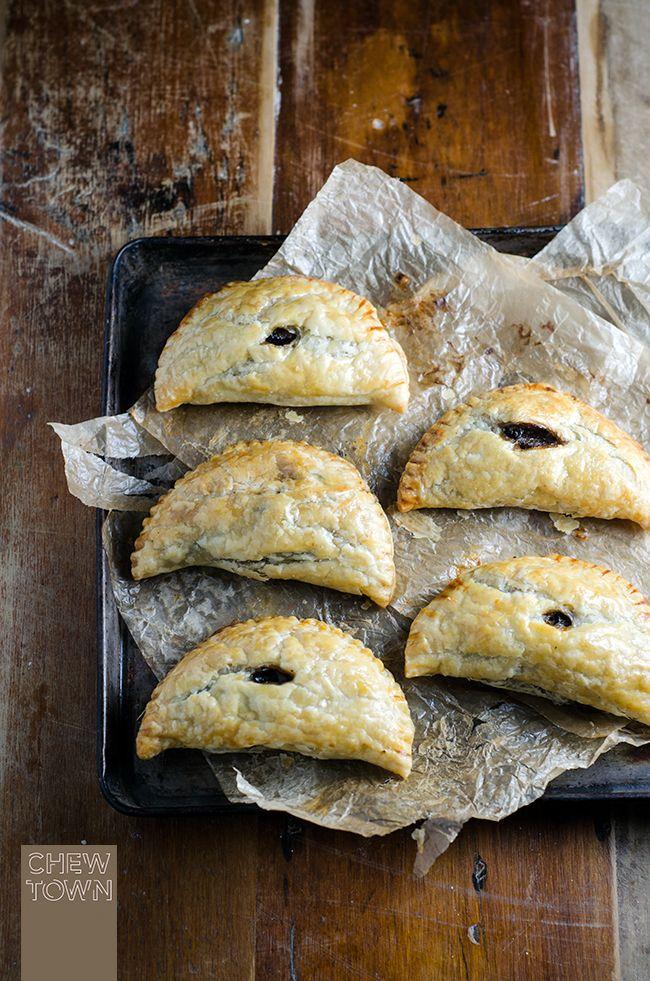 Mushroom and Cavolo Nero Hand Pies | Chew Town Food Blog