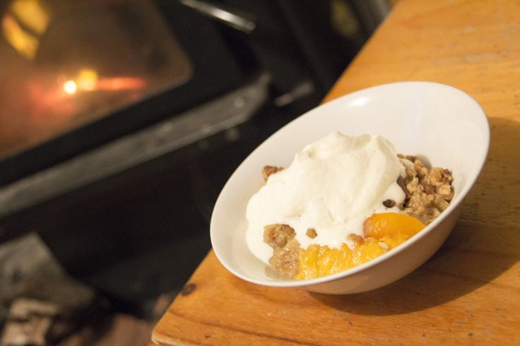 PEACH APRICOT & GINGER CRUMBLE