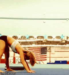 Most girls go through a gymnastics phase at some point in their adolescence. By the time they get to middle school, though, gymnastics tends to take a backseat to more mainstream sports like field hockey and soccer — you know, sports that don't requi