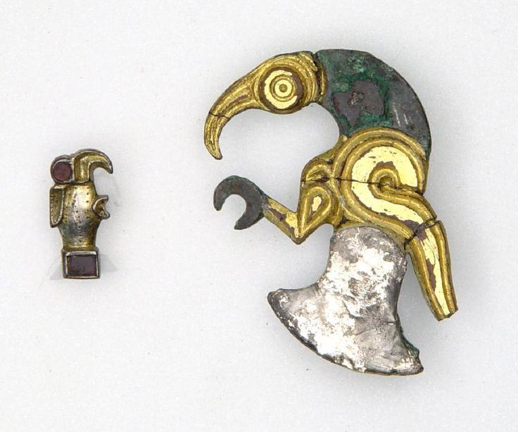 Bird Brooch 6th Century AD Merovingian