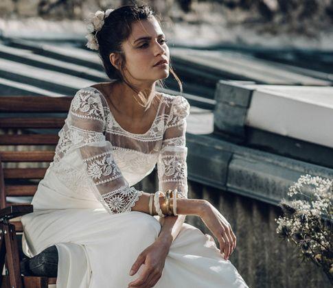 Vestidos de novias a la moda   Colección Laure De Sagazan