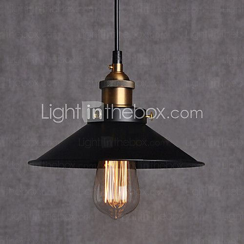 European Style Retro Classic Pendant Lights Dining Room Art Droplight Give 40w Bulb Diameter 22CM - USD $41.99