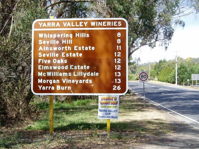 Warburton Highway // It must be a sign!