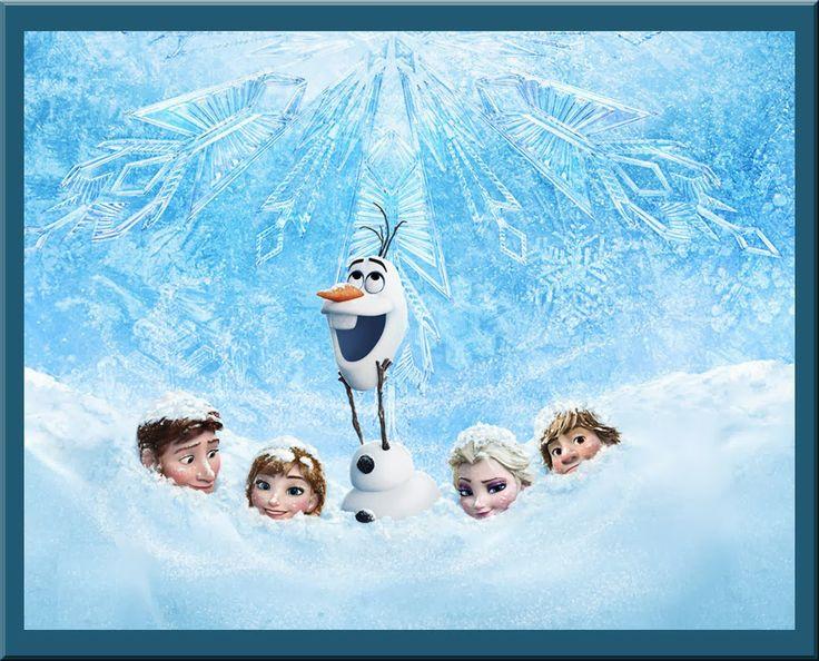 Frozen Clip Art. - Is it for PARTIES? Is it FREE? Is it CUTE? Has QUALITY? It´s HERE! Oh My Fiesta!