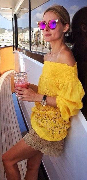 Olivia Palermo in Ibiza - July 29, 2015