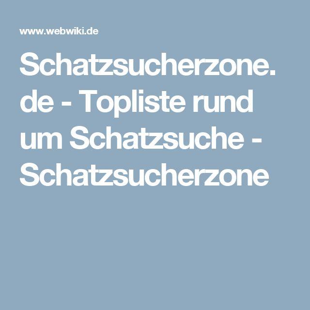 Schatzsucherzone.de - Topliste rund um Schatzsuche - Schatzsucherzone