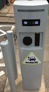 AC Charger supplying Green Electricity to Electric cars