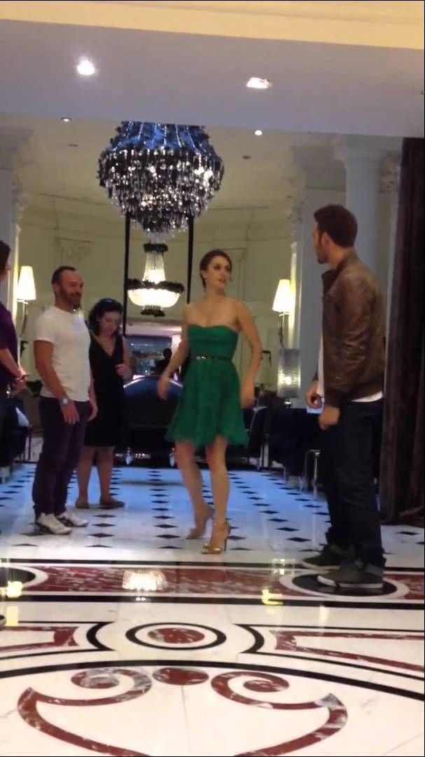 RYAN GUZMAN and KATHRYN McCORMICK Private Dancin'