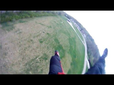 Friday Freakout: Skydiver's Parachute Collapses, Hits Ground Hard!