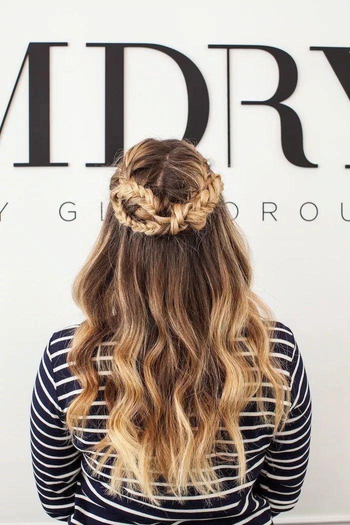 DIY kurze Frisuren für schwarze Haare #Diyhairstyles