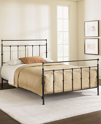 kingston mahogany gold queen bed metal bed frame bedroom furniture furniture macys