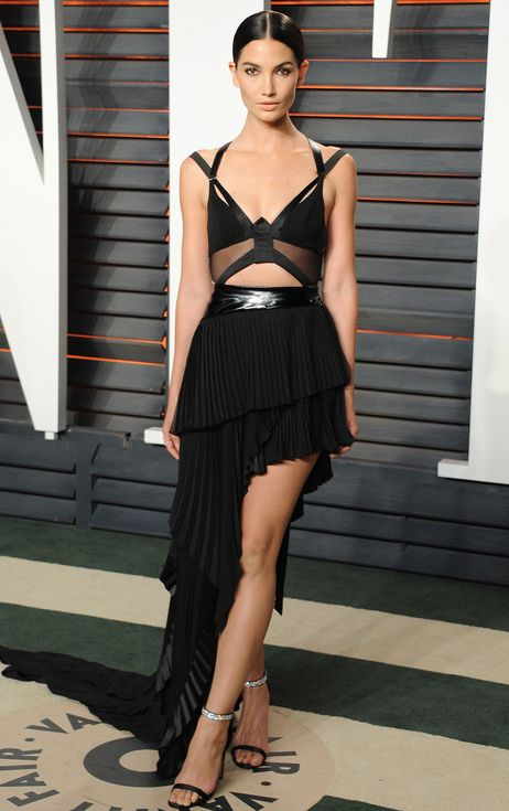 Oscars 2016: All the Dresses You Didn't See | People - Lily Aldridge in Alexandre Vauthier Couture