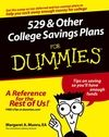 529 and Other College Savings Plans For Dummies Cheat Sheet
