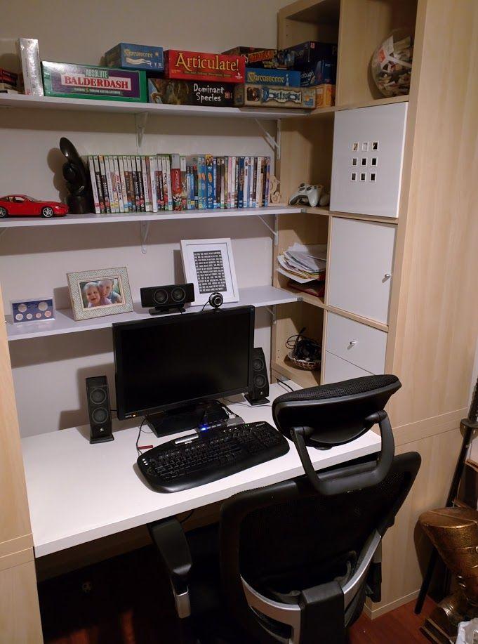 25 best ideas about kallax desk on pinterest bureau for Ikea bureau bureau pirater