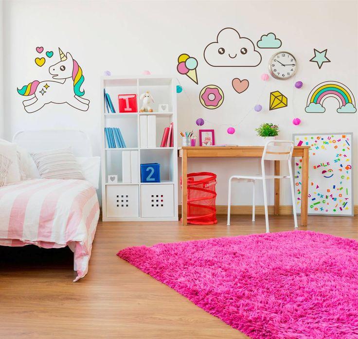 Best 25+ Adesivos para quarto ideas on Pinterest  ~ Adesivo De Parede Para Quarto Infantil Barbie