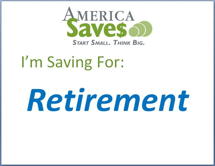 I'm Saving for Retirement -- Retirement savings is a top priority for many Savers. Unfortunately, many do not have access to an employer-sponsored retirement plan, such as a 401(k) plan.  Even if your employer doesn't offer a retirement plan, you can still save for retirement, and get some tax benefits in the process, by putting money in an Individual Retirement Account (IRA).