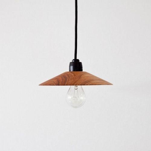 Tomiyama Koichi | Walnut Coffee Lamp