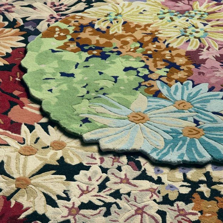 luanda round rug 120cm 120cm