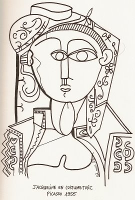 Picasso drawings