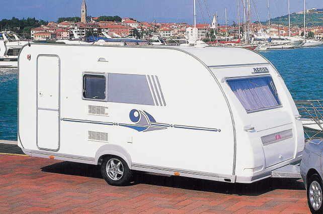 caravane Adria Adiva de l'année 2002