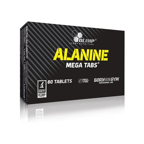 Olimp Alanine Mega Tabs 80 Tablet