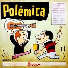 capa do disco Polêmica. noel rosa e wilson das neves
