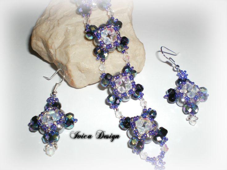 Rorolina earrings, bracelet <3 Pattern: Beeyang Follow me on my facbook page: https://www.facebook.com/IvicaDesign/?ref=settings Buy my jewelrys on: https://porteka.com/hu/ivica