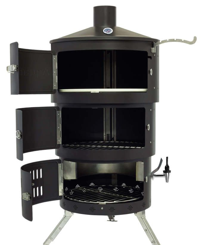 All In One Multi Fuel Outdoor Cooking Stove Bbq Grill Oven Rotisserie More Check Out Aquaforno Ii The Ultimate On Ingogo