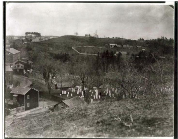 the original mount ida burial grounds 1880