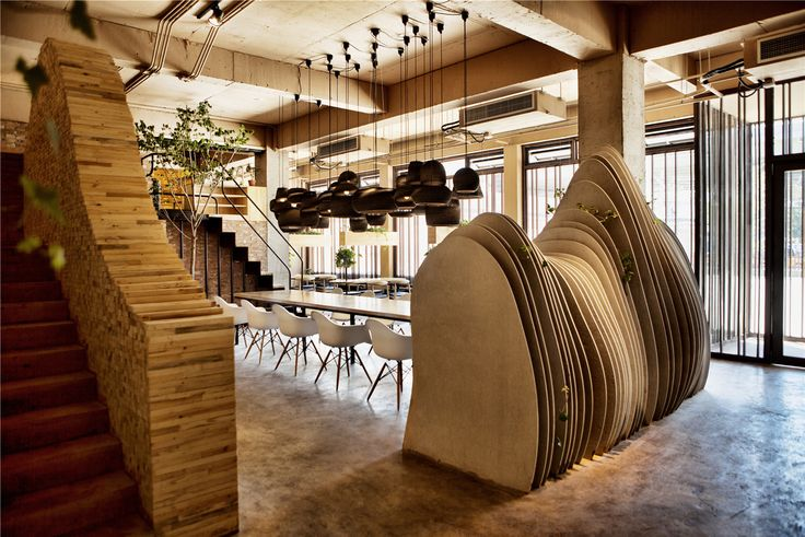 Shan Café / Robot3 Design