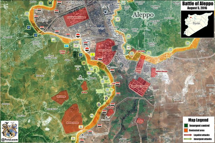 Map Update of S #Aleppo with more details... *Click on image for max. resolution