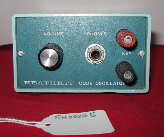 HEATHKIT Model HD-1416 Morse Code Practice от RobsHobbies на Etsy