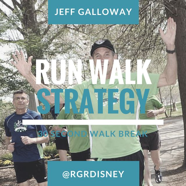 New Run / Walk Strategy - Jeff Galloway Training and Motivation Tips ~ run. geek. run(disney)