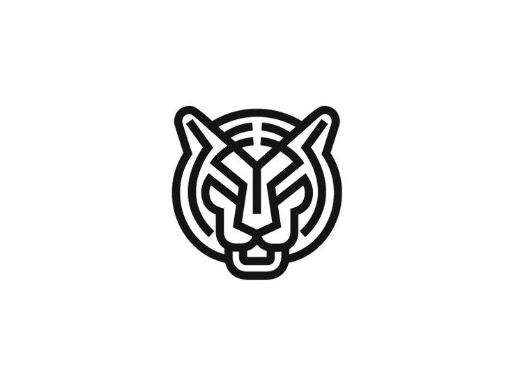 Tiger  by Nina Megrelidze https://dribbble.com/shots/2436263-Tiger #zeeenapp