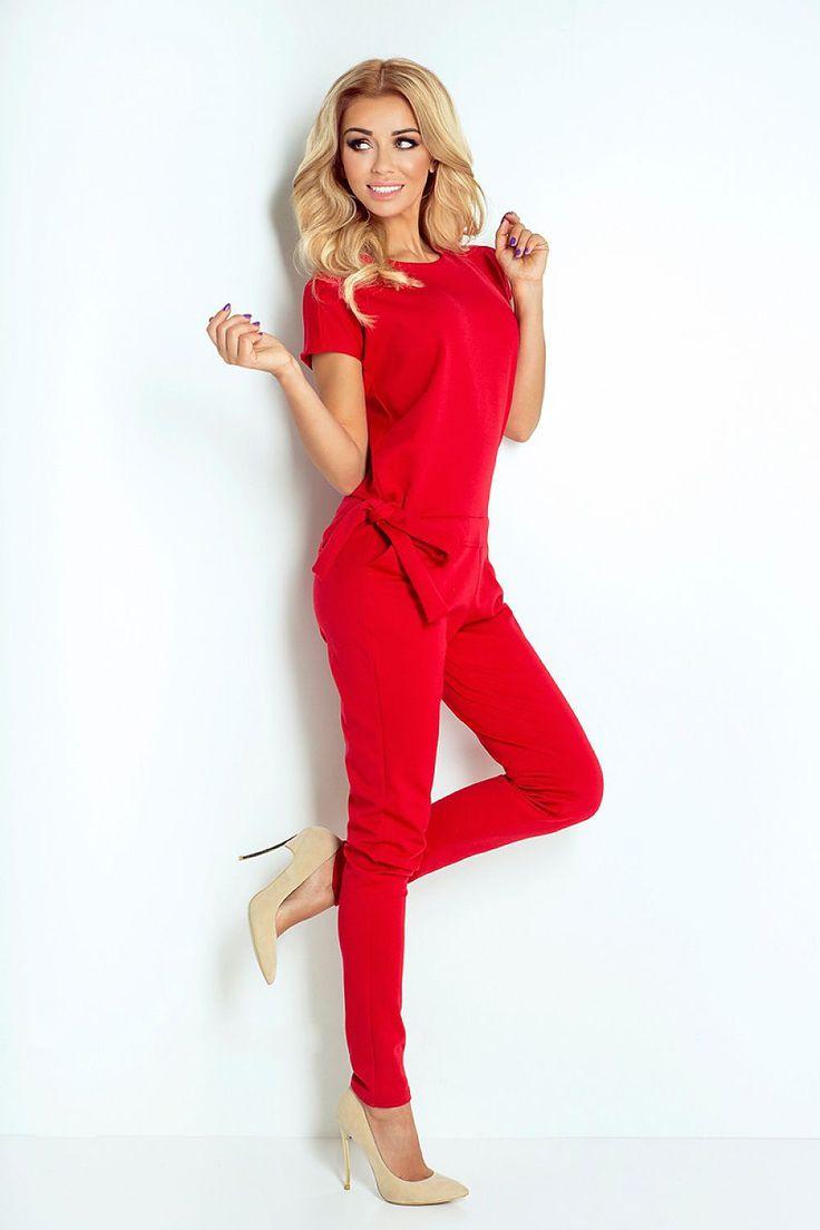 Best 25  Red jumpsuit ideas on Pinterest | Elegant jumpsuit ...
