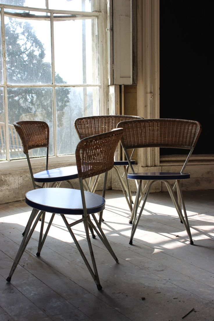 Very comfortable pair of 1950s french reclining leather armchairs - A Very Stylish And Comfortable Set Of Four Circa 1950s Occasional Dining Chairs In