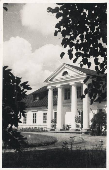 Możejków Mały. Zespół dworsko-parkowy Romerów, ca 1939, Bialorus