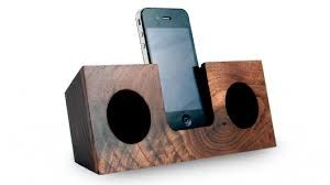 cement and wood, Docing station for i phone - Google Search