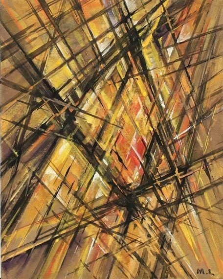 Mikhail Larionov, Composition