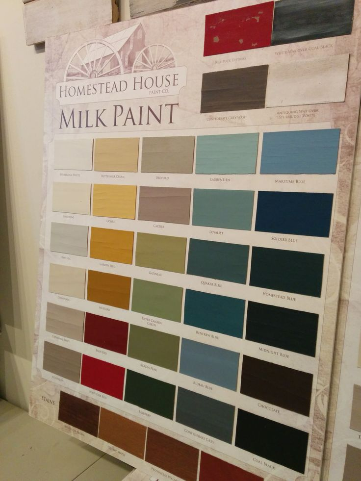 68 best Homestead House Milk Paint Colours images on