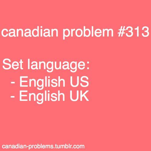 Me senses..... DISCRIMINATION! Discrimination against Canada! But I'm too nice to complain.