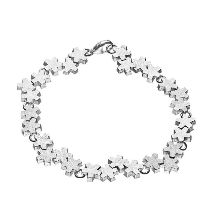 Kalevala Jewerly / Luminous White Bracelet